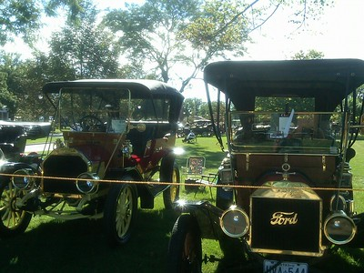 Vintage cars at Greenfield Village - Rand Mirante '70