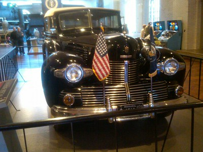 FDR's inauguration vehicle at Ford Museum - Rand Mirante '70