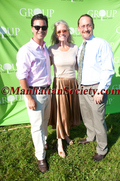 SAGAPONACK, NEW YORK - JUNE 23: Aaron Virgin,  Eleanor Roper , Bob De Luca attend Group for the East End's 40th Anniversary Benefit + Auction on Saturday, June 23, 2012 at Wölffer Estate Vineyard, 139 Sagg Road, Sagaponack, Long Island, NY (Photos by Christopher London ©2012 ManhattanSociety.com)