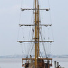 Guayquil - sailboat on Rio Guayas