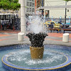 Guayaquil - Fountain in Malecon 2000