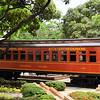 Guayaquil - restored train car in Malecon 2000