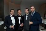 Frederick Wertheim, Angelo K H Chan, Travis Braha, Daniel Wismer. Photo by Christine Butler. © SRGF
