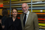 Jacqueline Sackler, Richard Armstrong. Photo by Christine Butler. © SRGF