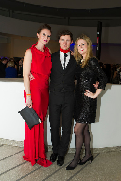 Anna Christina Furney, Dmitry Komis, Anne Huntington. Photo by Christine Butler. © SRGF
