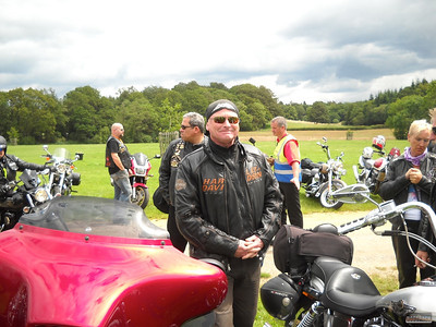Harley Ride-In to Beaulieu, 15 Jul 2012