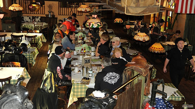 Wild West Brunch ride, 19 Feb 2012  - click caption to view gallery