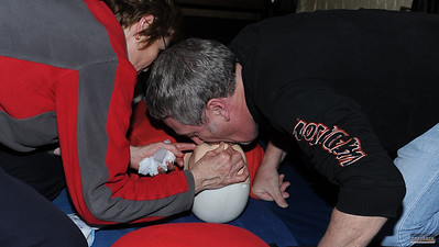 Road Crew First Aid Training, 15 Mar 2012  - click caption to view gallery