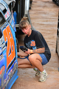 Dennis Erb, Jr. Crew Chief - Heather Lyne