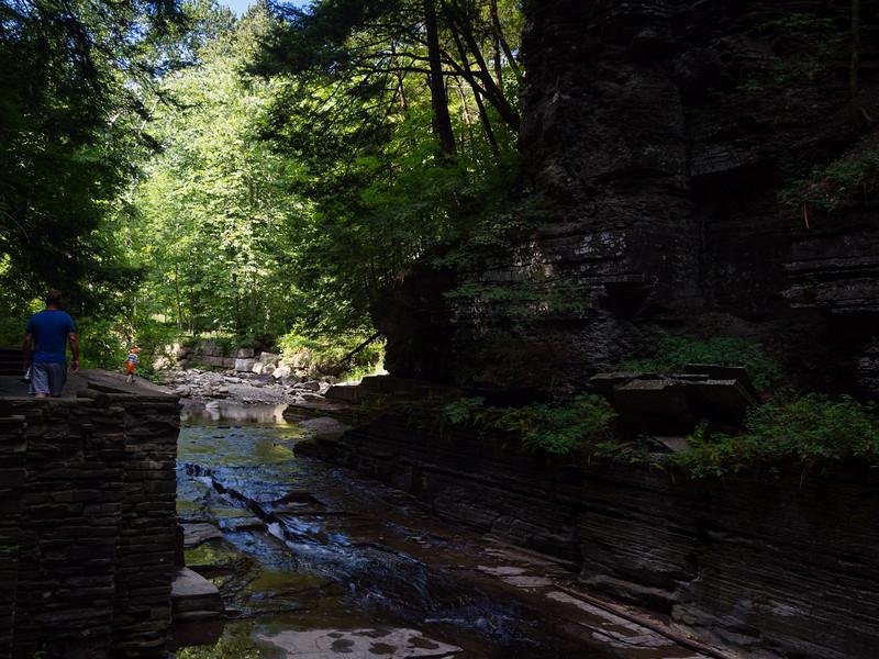 Stream among the rocks