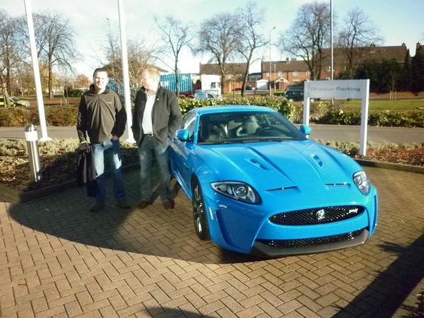 Jaguar Factory Visit 29 Nov 2012