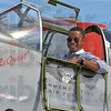 Tribune-Star submitted photo Jerry O'Neill<br /> Flying high: Cuba Gooding Jr.  inside our P-51C.  This picture was taken in Hartford, Connecticut during the AOPA Summit in September.