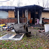 Tribune-Star/Jim Avelis<br /> Lost: An early Thursday morning fire claimed the life of Esther England of Marshall Illinois. The home at 502 Redwood on marshall's southside was destroyed.