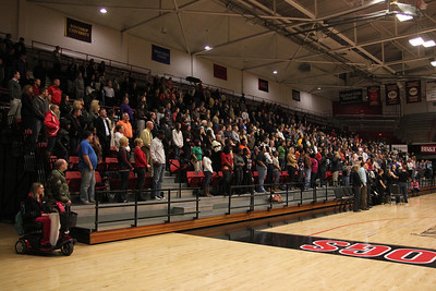 Hundreds of GWU students, family, and Boiling Springs community come and gather to celebrate the life of Ariane Patterson.