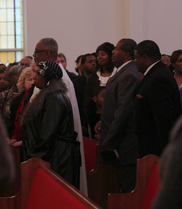 January 21, 2012 Celebration of the life of Ariane Patterson at New Bethel Ame Zion Church of Forest City, NC