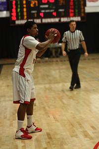 Jason Dawson, 11, passes the ball