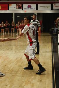 Max Landis, 10, passes the ball