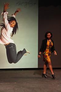 "Verhonda Crawford shows off her ""fun fashion"""