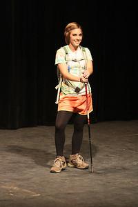 "Elizabeth Krailo shows off her ""fun fashion"""