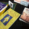 Assorted books on display during Sunday's Health Fair at Hulman Center.