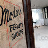 Modern: The Davis Building is currently under renovation by Lee Lewis and her husband Tony.
