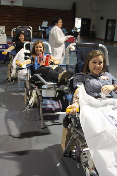 SGA sponsered blood drive held Wednesday Janurary 18th in Bost Gym.