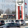 Dorsett: Dorsett has recently purchased the Hyundai-Nissan dealership. The Dorsett Mitsubishi dealership is seen in this photo from the lot of the newly purchased business on US 41 south of the fairgrounds.