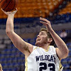 Score: South Vermillion's #23, Phillip Harpenau scores during game action against Cascade Saturday at Hulman Center.