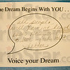 Tribune-Star/Jim Avelis<br /> I have a dream: Students at Rose-Hulman were invited to post short notes on dreams they have. The notes will remain posted through this week.