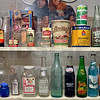 Tribune-Star/Joseph C. Garza<br /> From the shelves of yesteryear: Old bottles that once lined the shelves at Tilford's Variety Store are display at Tilford's 5 and 10 near Twelve Points.
