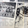Twice: Yearbook photos from the first year of North/South basketball.