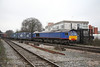 28 January 2012 ::  66414 at Basingstoke with 4O27, Garston to Southampton 'liner