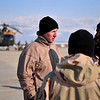 120125-F-XC395-026<br /> Lt. Col. John Conmy, an Mi-17 helicopter pilot with the 438th Air Expeditionary Advisor Squadron, conducts a pre-flight brief with his Afghan counter parts at Fayzabad, Afghanistan prior to taking for aerial observation of a crash site mission in Badakshan Province Jan 25, 2012. American and Afghan Airmen are conducting the mission for an Afghan Mi-17 helicopter that crashed in the province. (U.S. Air Force photo/ Master Sgt. Shane A. Cuomo)