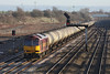 13 January 2012 :: 60049 at South Moreton with 6E55, Theale to Lindsey empty oil tanks