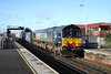 26 January 2012 ::  66420 at Basingstoke with 4M28, Southampton to Ditton
