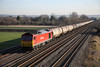 16 January 2012 :: 60091 at Cholsey with 6E55, Theale to Lindsay