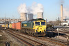 16 January 2012 :: 66558 at Didcot with the Mondays only, 4L30 Bristol to Felixstowe