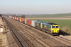 16 January 2012 :: Train 4O54 Leeds to Southampton with 66504 and 66589 at Cholsey