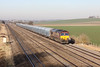 16 January 2012 ::66221 passes Cholsey with 4O40, Cowley to Southampton
