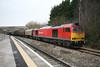 17 January 2012 :: 60011 shunting loaded steel wagons at Swindon