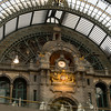 Main train station in Antwerp....probably one of the prettiest train stations I have seen