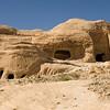 Gravesites in Petra, Jordan