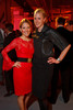 "Stephanie Richards and Dora Enright.  Ticket release party for ""Yves Saint Laurent:  A Retrospective,"" benefiting the Denver Art Museum, at The Ritz-Carlton, Denver, in Denver, Colorado, on Wednesday, Jan. 18, 2012.<br /> Photo Steve Peterson"