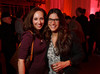 "Dana Berry and Melissa LaCome.  Ticket release party for ""Yves Saint Laurent:  A Retrospective,"" benefiting the Denver Art Museum, at The Ritz-Carlton, Denver, in Denver, Colorado, on Wednesday, Jan. 18, 2012.<br /> Photo Steve Peterson"