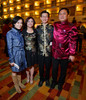 Charlene Thai, Lien Loi, Allen Cheng, and James Luo.  The 10th Annual Chinese New Year Gala, benefiting the Nathan Yip Foundation, at Denver Marriott Tech Center in Denver, Colorado, on Saturday, Jan. 28, 2012.<br /> Photo Steve Peterson