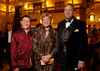Larry Chan with Betsy and Bob Swift.  The 10th Annual Chinese New Year Gala, benefiting the Nathan Yip Foundation, at Denver Marriott Tech Center in Denver, Colorado, on Saturday, Jan. 28, 2012.<br /> Photo Steve Peterson