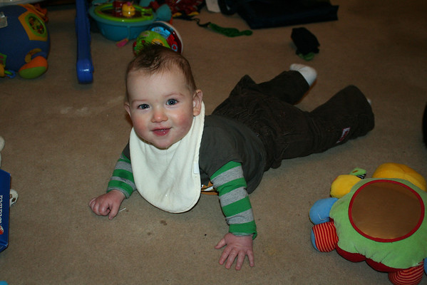 Billy on the floor