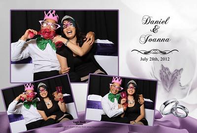 Joanna & Daniel Wedding