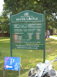 Jousting at Hever Castle, 19 Aug 2012
