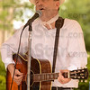 "Tribune-Star/Joseph C. Garza<br /> Song of the river: Tom Roznowski sings Paul Dresser's ""On the Banks of the Wabash, Far away,"" during his performance at the Terre Foods Blueberry Festival Thursday at Central Presbyterian Church."